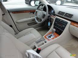 2004 audi a4 interior. beige interior 2004 audi a4 30 quattro sedan photo 46588617 u