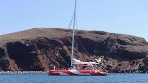 Dream Catcher Boat Santorini Catamaran Caldera Cruise with Barbecue Santorini Island Expedia 67