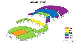 Cadillac Palace Theatre Chicago Illinois Seating Chart Cadillac Palace Box Office Btgresearch Org