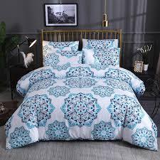 boho bedding set printed duvet cover