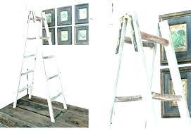 a frame shelf wooden display ladder shelf decorative ladders a frame picture la metal frame shelves