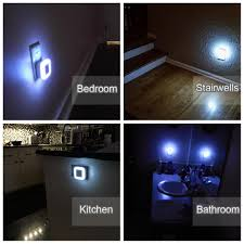 Kitchen Night Lights Stoon Led Night Light With Auto Dusk To Dawn Sensor Plug In Wall
