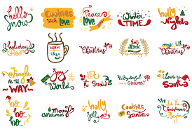 The christmas countdown widget displays a cute santa claus counting down to christmas in your sidebar. Christmas Quotes Set Graphic By Wienscollection Creative Fabrica Christmas Quotes Christmas Svg Files Jingle All The Way