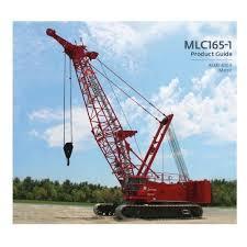 Grove 165 Ton Crane Load Chart Til Mlc 165 1 165t Crawler Cranes Til Limited Kolkata