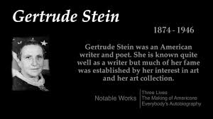 Image result for gertrude stein