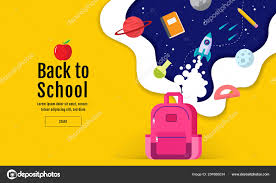 How To Design A Poster For School Back School Sale Banner Poster Flat Design Colorful Vector