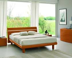 modern wood bedroom furniture. Made In Italy Wood Platform Bedroom Sets Feat. Light - Furniture Modern N