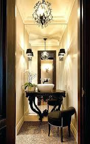 powder room lighting powder room chandelier bath powder room lighting above mirror powder room lighting houzz
