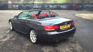 Coupe Series bmw 335i m sport for sale : BMW 335i Convertible M Sport - YouTube