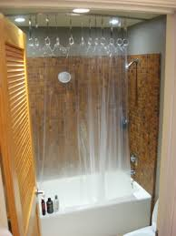 hack a ceiling track for shower curtain ikea hackers ikea hackers hanging shower curtain rod