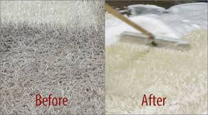 before after image of persian rug cleaning
