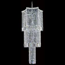 the 10 light equinoxe crystal chandelier features chains of high quality 30 asfour lead crystal beads and drops arranged in an eye catching geometric v