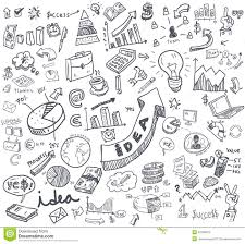 Hand Doodle Charts Stock Vector Illustration Of Icon 42359876