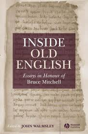 inside old english essays in honour of bruce mitchell old  inside old english essays in honour of bruce mitchell