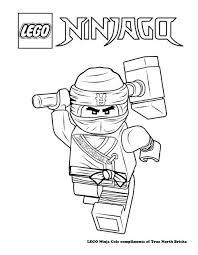 Coloring Page Ninja Cole Basile Ninjago Coloring Pages Diy