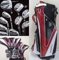 Maxfli Black Max Golf Clubs Bag Set Mx10 Right Handed for Sale in ...