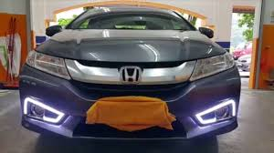 Honda City Gm6 2014 Fog Lamp Cover With Daylight And Signal