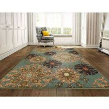 ottohome collection contemporary damask design sage green 8 ft x 10 ft area rug