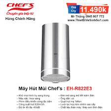 Máy Hút Mùi Chefs EH-R822E3 | Tổng Kho Bếp Nhập Khẩu Chính Hãng