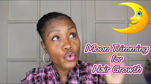 Moon Trimming For Fast Hair Growth