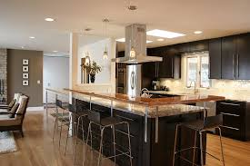 Superb Open Kitchen Design With Island And Gourmet Kitchen Designs Together With  Marvelous Views Of Your Kitchen Followed By Chic Environment 5 Awesome Design