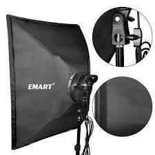 Emart Photography Softbox Lighting Kit Photo Equipment