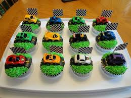 Race Cars With Lane Cupcakes Cupcakes Gallery