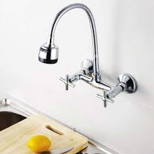 wall mount kitchen sink faucet