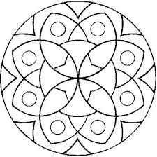 Coloring Pages Mandala Simple Mandala Coloring Pages For Perfect