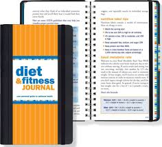 Diet Workout Journal Diet Fitness Journal Your Personal Guide To Optimum Health