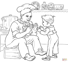Small Picture Pat a Cake coloring page Free Printable Coloring Pages