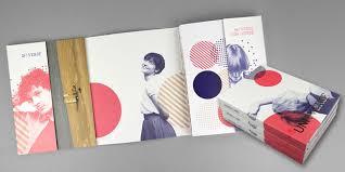 school brochure design ideas the 174 coolest brochure designs for creative inspiration