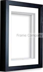 Box Picture Frame Frame Company Black Box Frame With Mounts