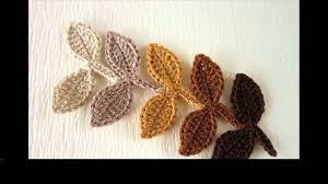 Youtube Crochet Patterns Best Easy Crochet Leaf Pattern YouTube