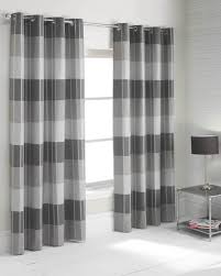 Cool Curtains Along With Striped Curtains Grey Horizontalstriped Curtains  Horizontal Stripe Then Curtains Grey For in