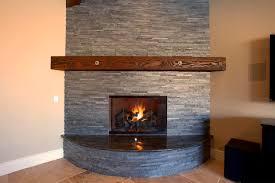 staining brick fireplace corner