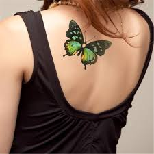 Flash Temporary Tattoo 3d Simulation Stickers Waterproof Arm Body Art Painting Butterfly Tattoo Animal Summer Style For Women