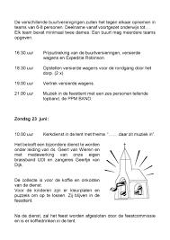Agenda Welkom In Oosternijkerk