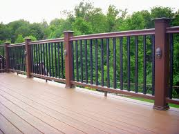 deck accent lighting. Deck Ideas:Timbertech Composite With Radiance Railing And Accent Lights Timbertech Lighting I