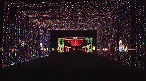 Light Show In Grand Prairie Grand Prairie Texas Christmas Light Tunnel Youtube