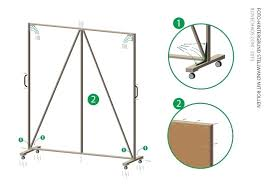 diy movable wall large size of walls on