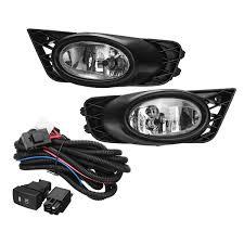 Fog Lights For Sale 2pcs H11 55w Car Front Bumper Fog Lights Lamp For Honda Civic 4 Door Sedan 2009 2011