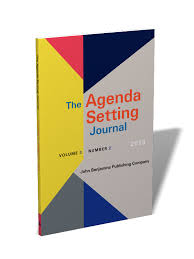 Agenda Setting The Agenda Setting Journal Theory Practice Critique