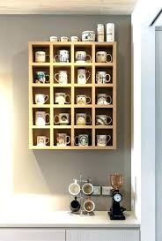 mug rack wall mug rack wall mug rack wall coffee mug storage ideas projects craft how mug rack wall