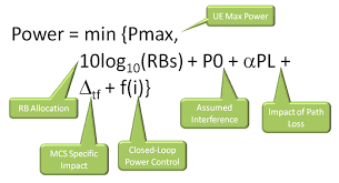 effect of closed loop power control on the ul rssi lauro  the power control formula for the uplink for the pusch in lte can be broken into five key parts the first part is the amount of additional power that is
