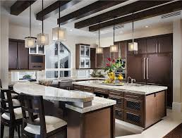 kitchen island breakfast bar pendant lighting. fascinating kitchen layouts with two islands and level breakfast bar also square pendant light fixture island lighting