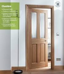 cheshire 4 panel oak interior fire door product lifestyle image