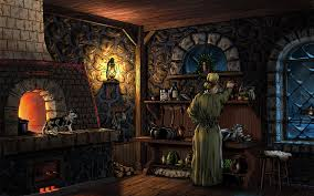 Old Kitchen Evening In The Old Kitchen By Fel X On Deviantart