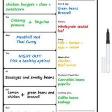 personal diet planner food diary slimming world compatible diet planner food log