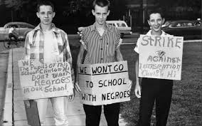 first it s that our segregation is the sign of an inhely